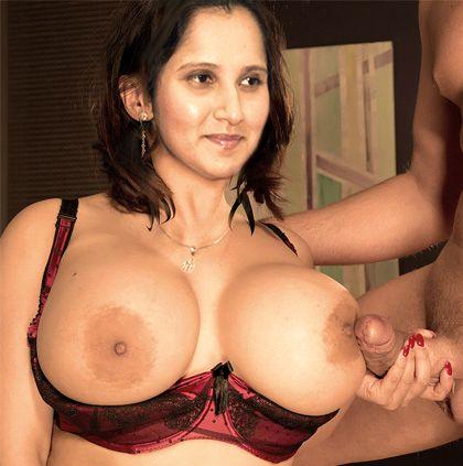 sania mirza huge boobs
