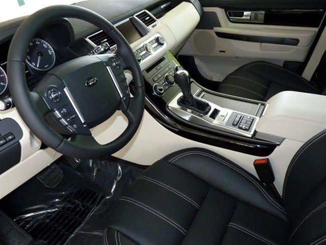 sport ebony interior range ivory rover