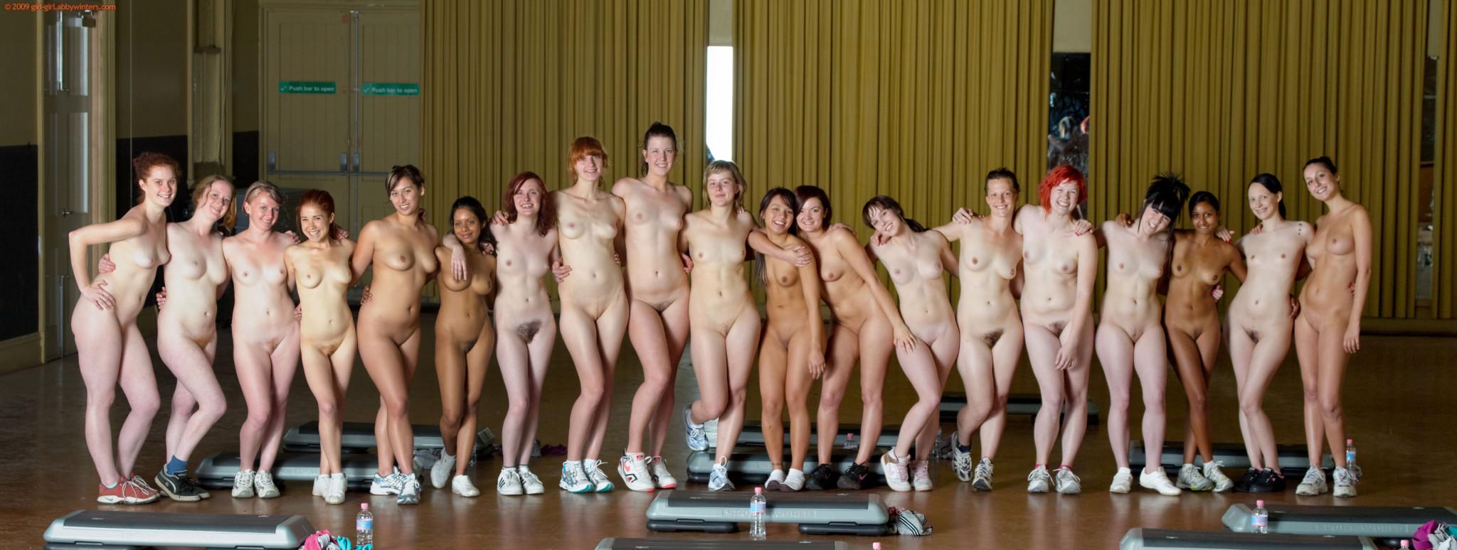 girls aerobics naked