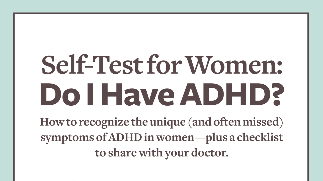test to adhd determine adult