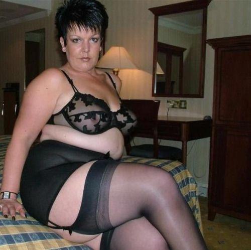 black fat mature