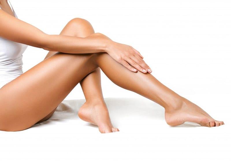 waxing leg bikini