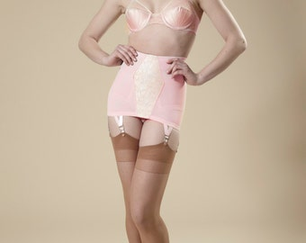 open girdle garter bottom