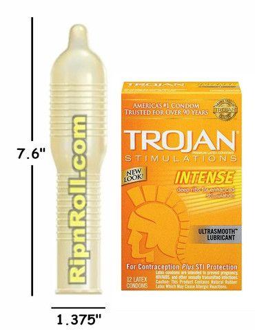 ultra ribbed condom