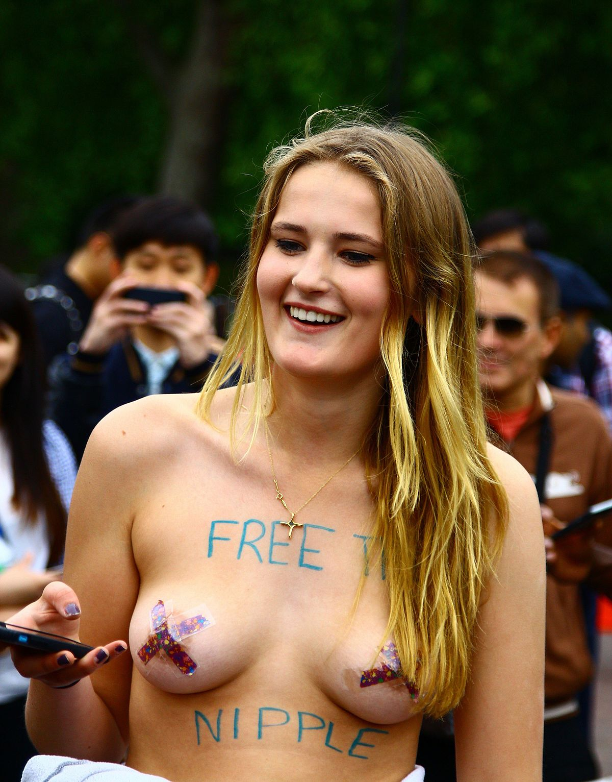 naked ladies tits seeable celebrity