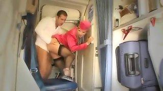 stewardess anal sex