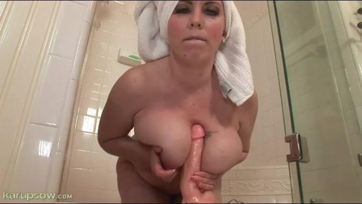 from behind ass finger her