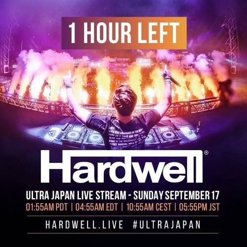 hardwell at ultra japan