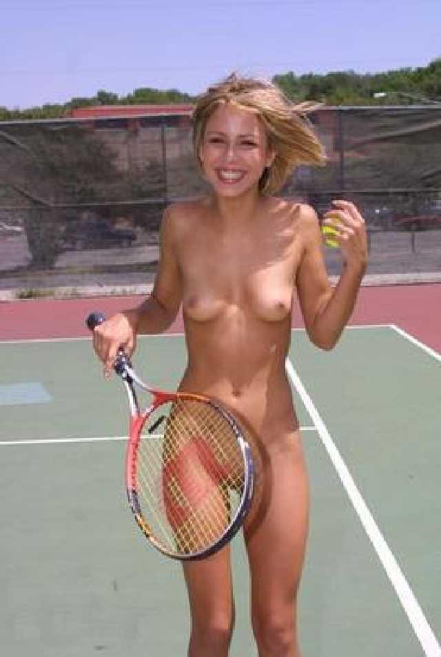 tennis naked girls playing