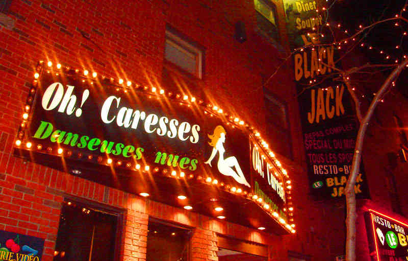 contact strip montreal clubs