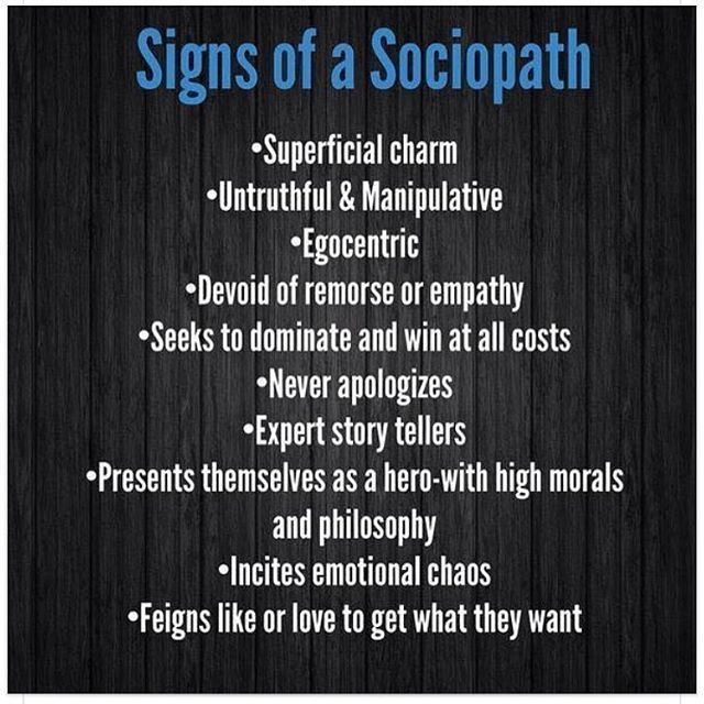 how sociopath a over to dating get