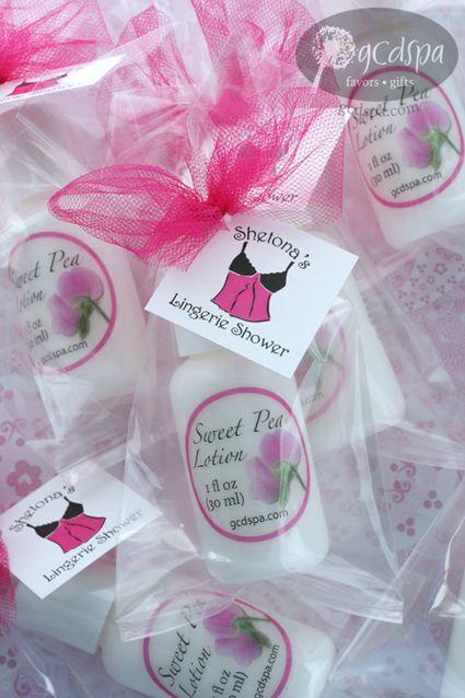 shower bridal favors lingerie