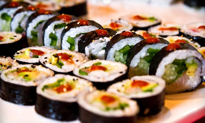 asians and sushi