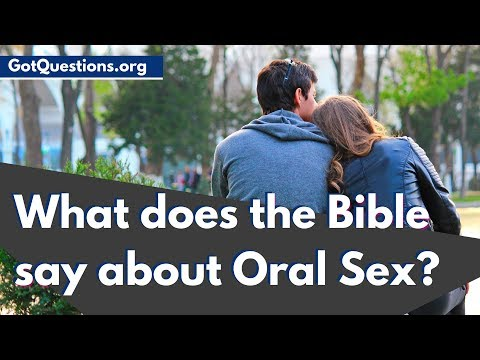 oral approve of does god sex