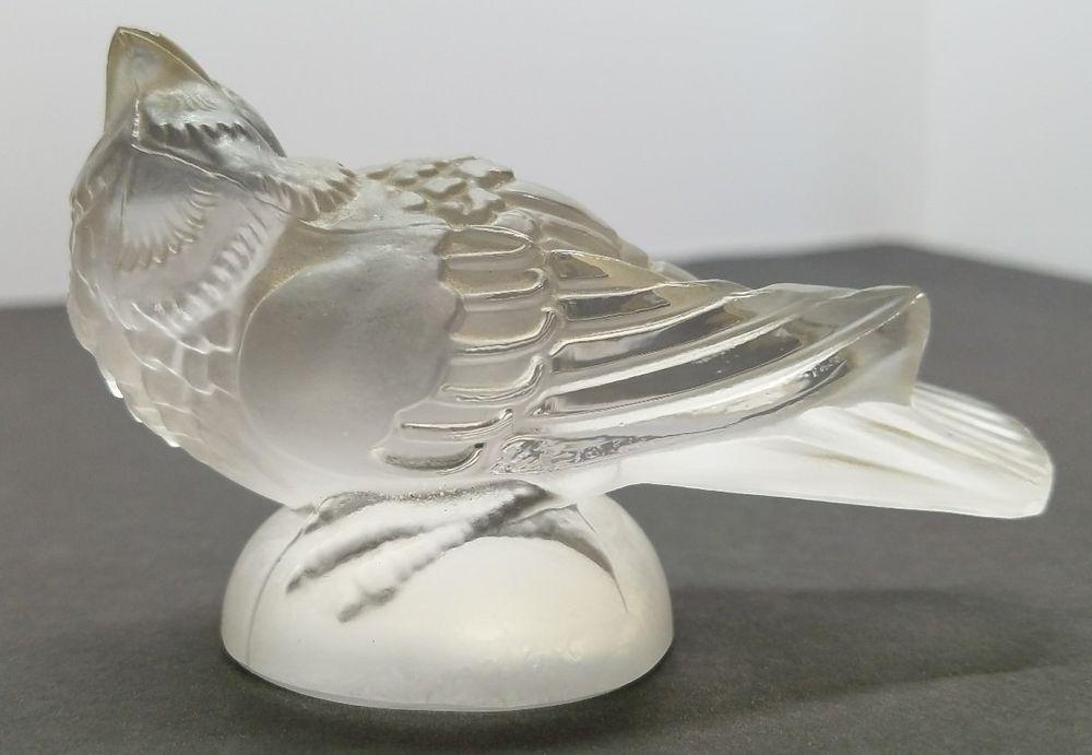 vintage glass birds