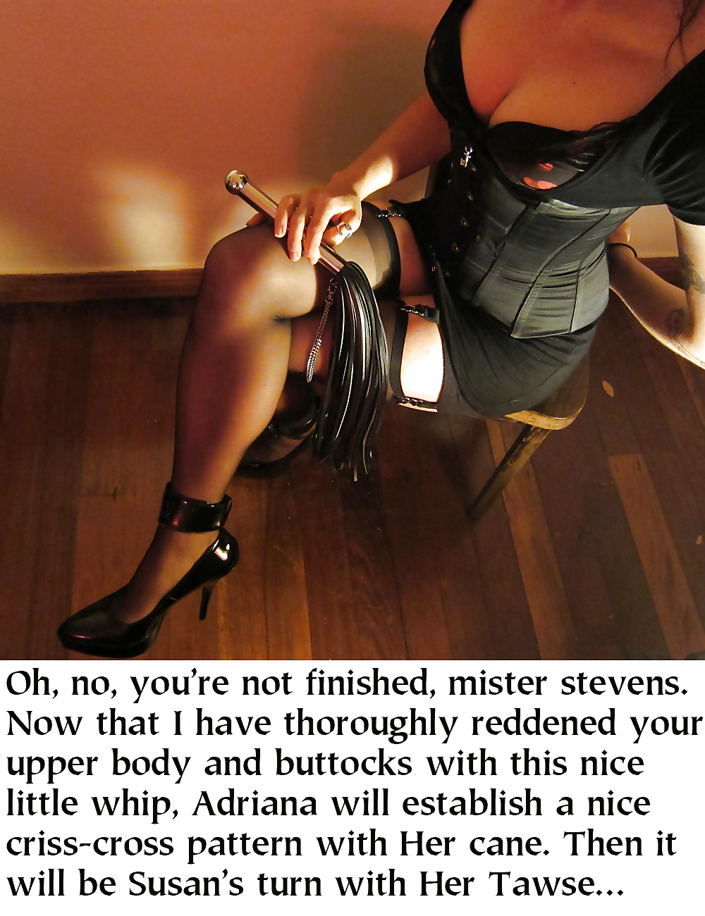 mature mistress captions