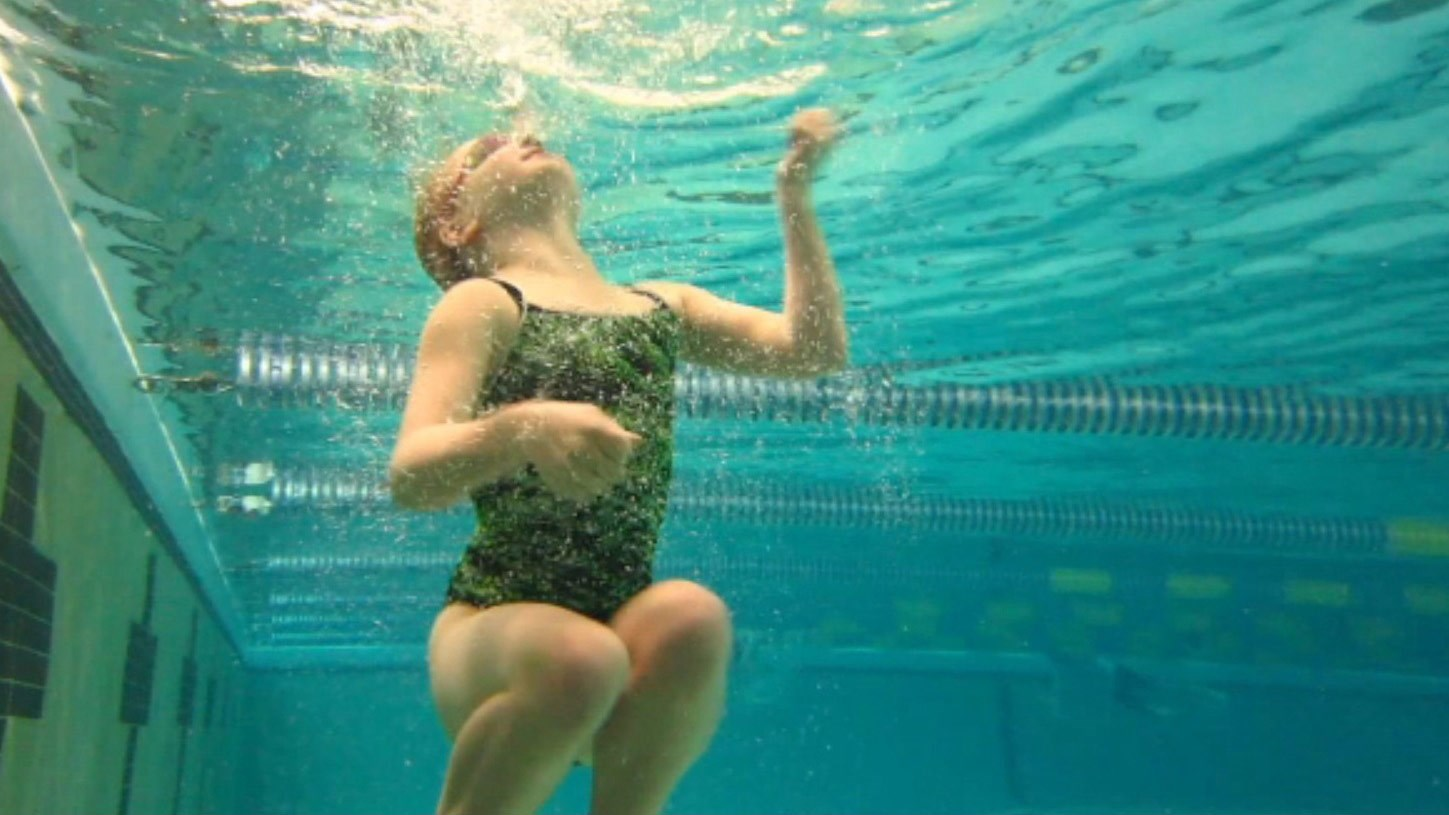 under a water give how to blowjob