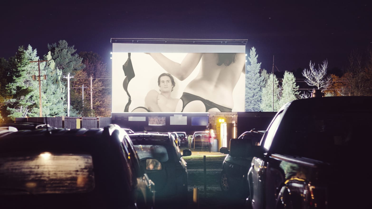 porn drive in