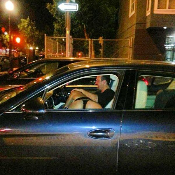 Public Car Blowjob