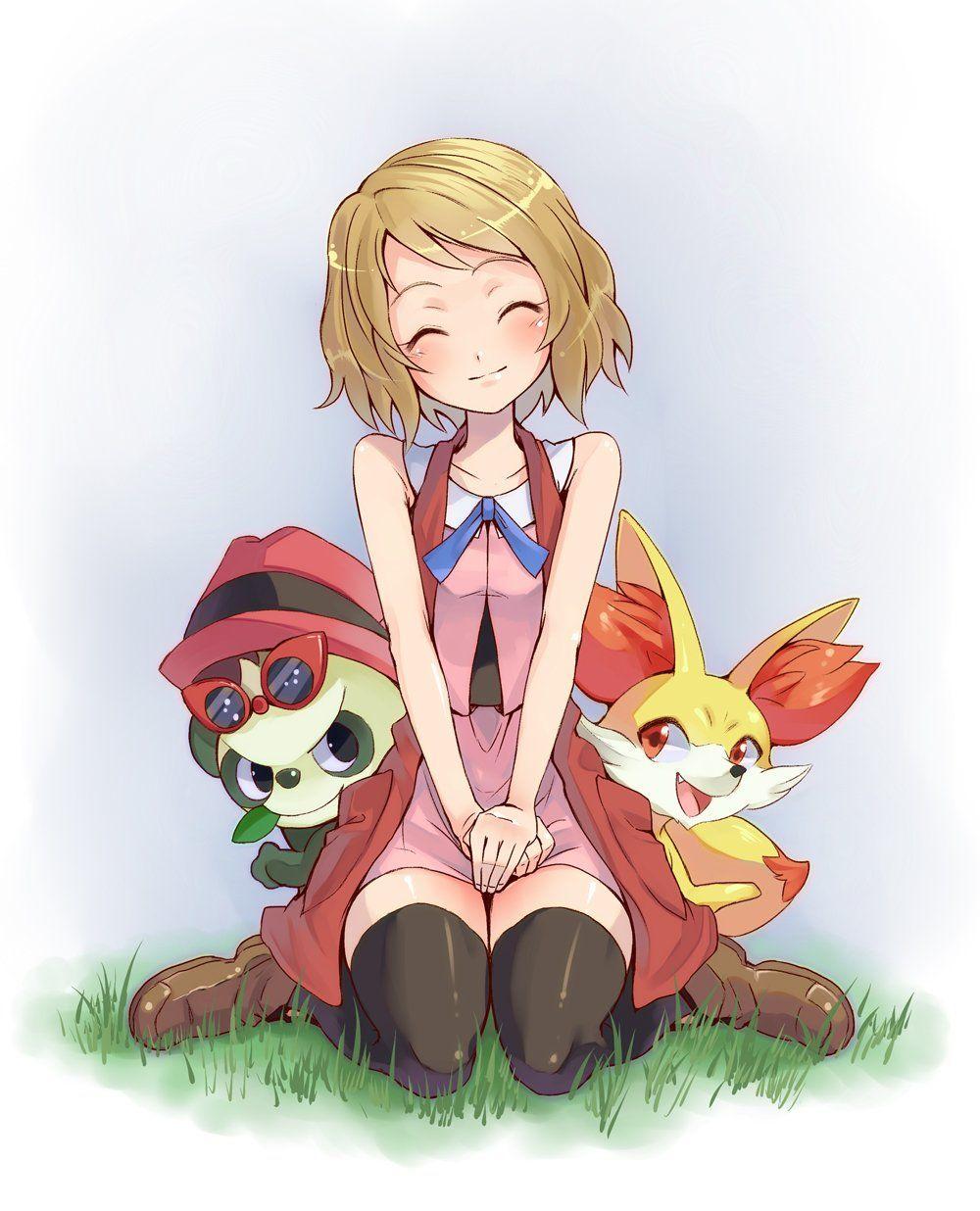 fanfic lesbian pokemon