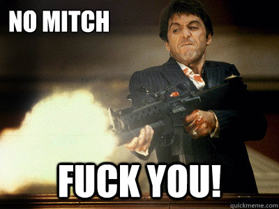 mitch to fuck want