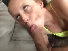 freckled long nailed milf