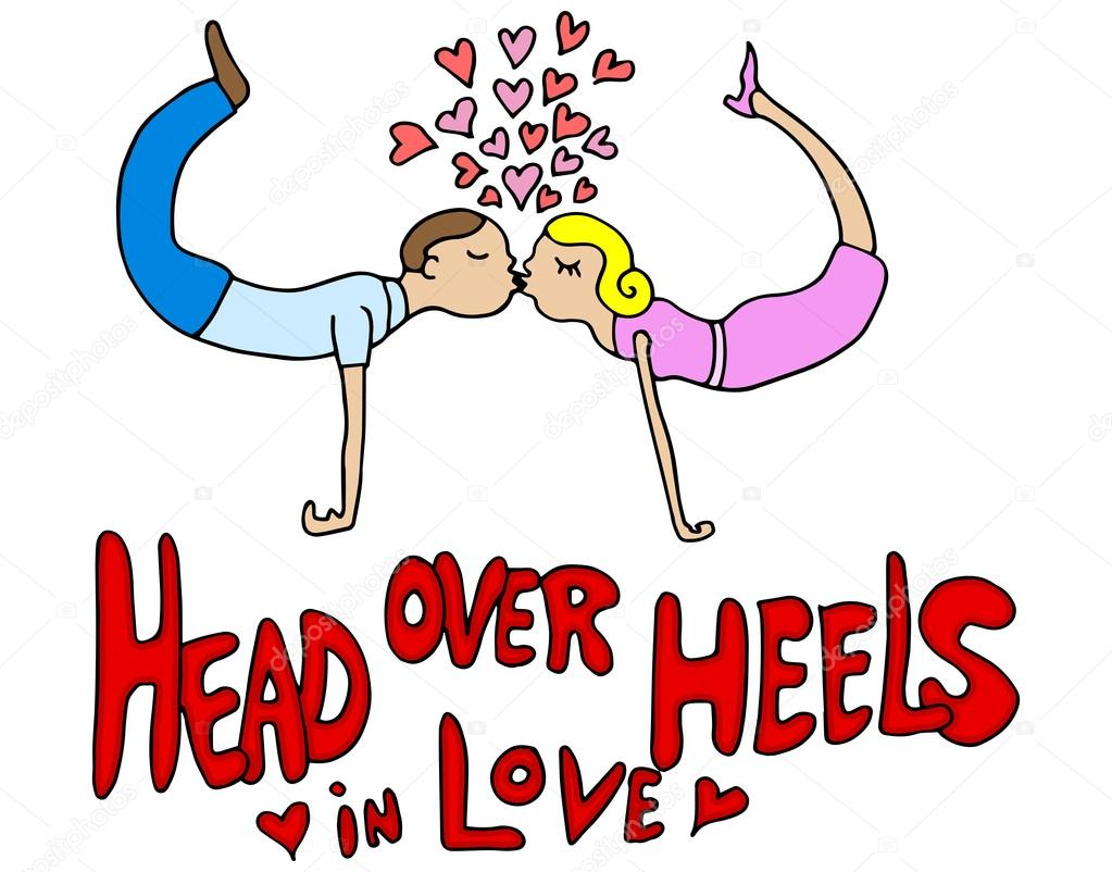 a over heels head