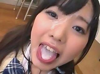 teen asian bukkake