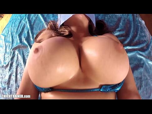 submissive boob job