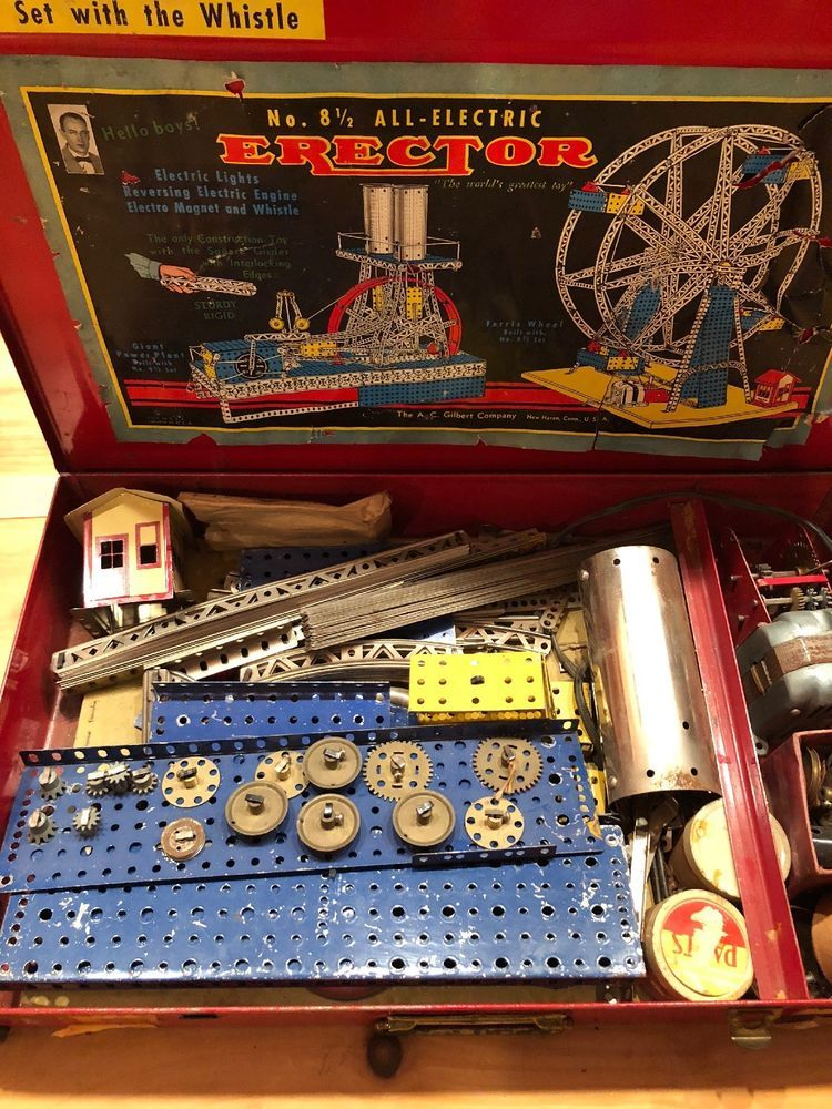 set vintage erector