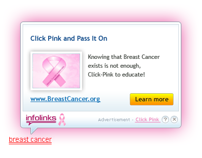 click breast cancer