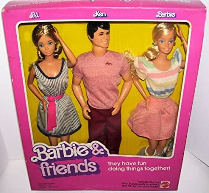 vintage ken doll and barbie