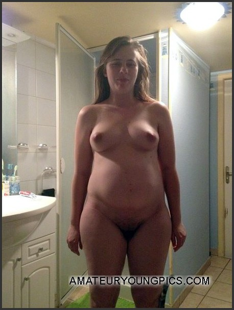 pregnant nude wife my