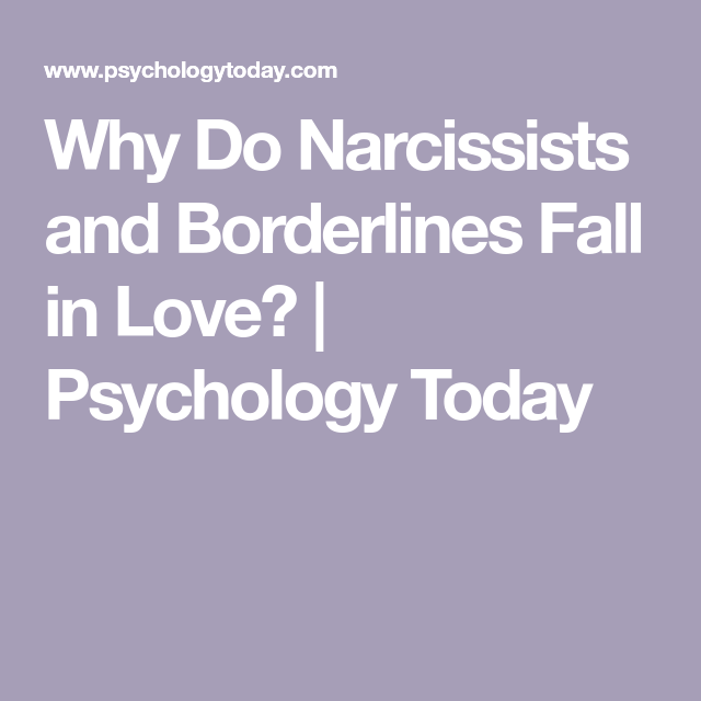 personality narcissist dating a disorder borderline