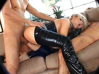 in anal blondes latex