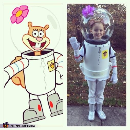 sandy from spongebob costume