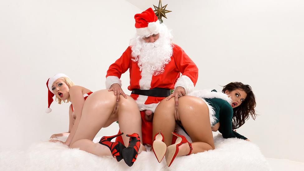 his porn santa elves and