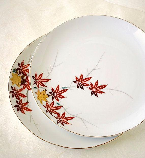 japanese melamine maple vintage