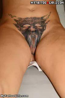 pussy tatoo art