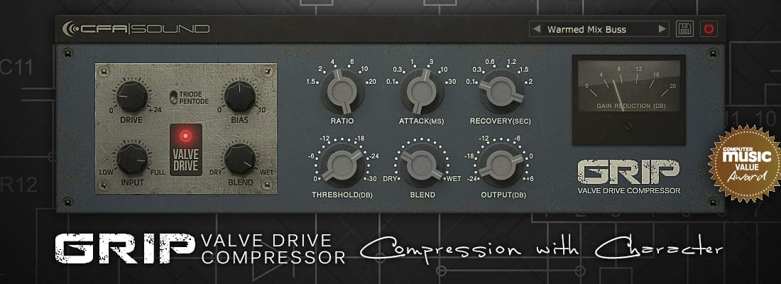 compressor plugin vintage