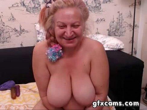 granny fingering pussy