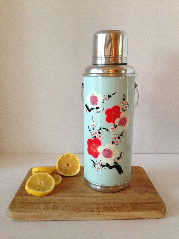 vintage japanese flask