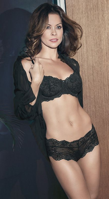 burke lingerie brooke model