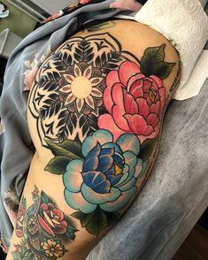 ass with big tattoos