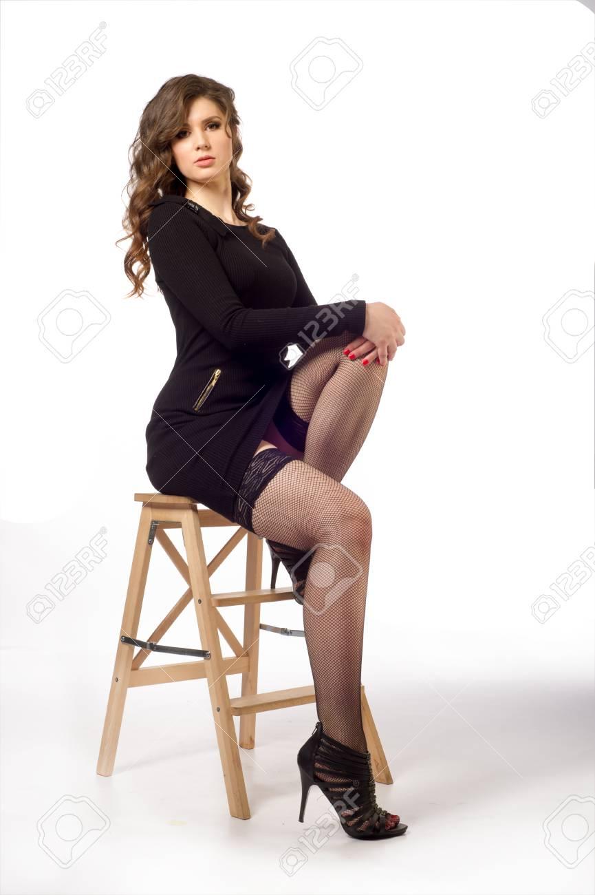 black ass skirt in a