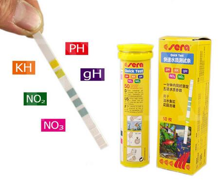 aquarium strips ph test