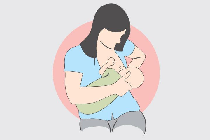 breast pain back and feeding