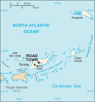 virgin islands british list