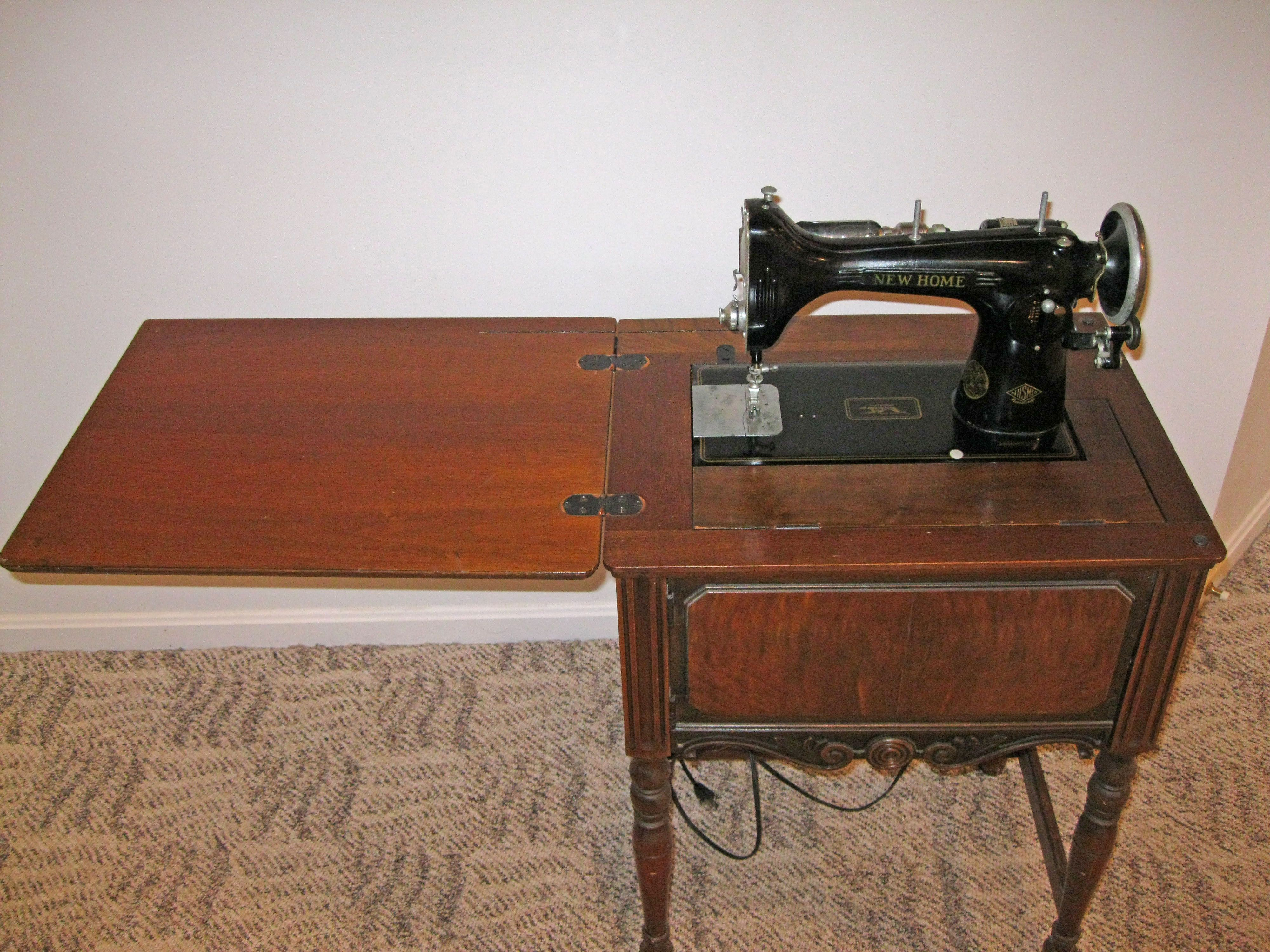 vintage sewing machines new home