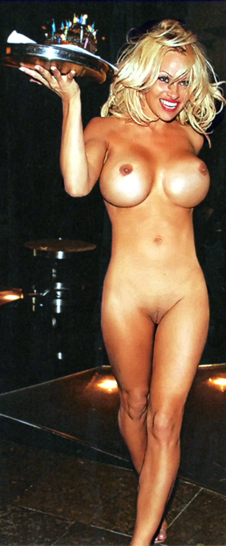 pamela anderson tits blonde fake